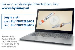 Hyrimoz Websitekaartjes voor patienten