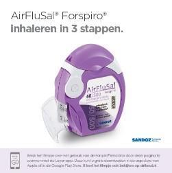Patientenfolder AirFlusal Nederlands